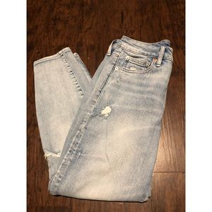 Gap Petite Curvy True Skinny Jeans High Rise